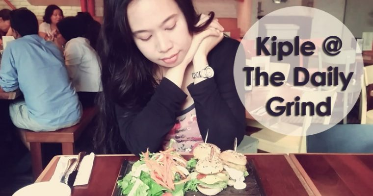 Using Kiple Mobile Wallet @ The Daily Grind, Bangsar