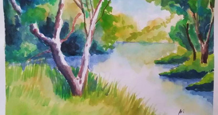 6 ways I overcame my fear of watercolour painting