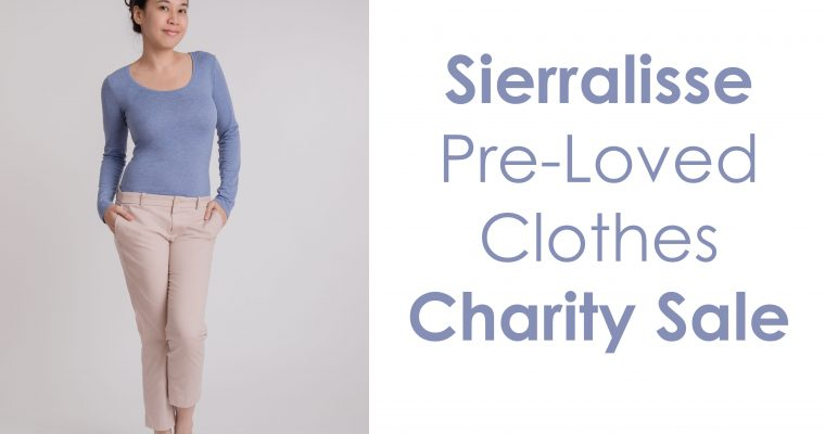 Sierralisse Pre-Loved Clothes Charity Sale